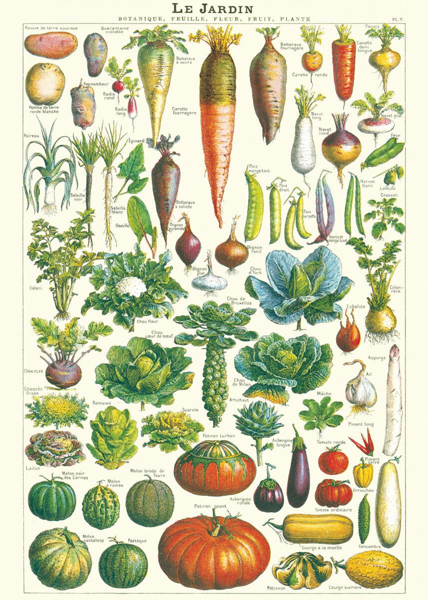 Le Jardin Vegetables Poster #315
