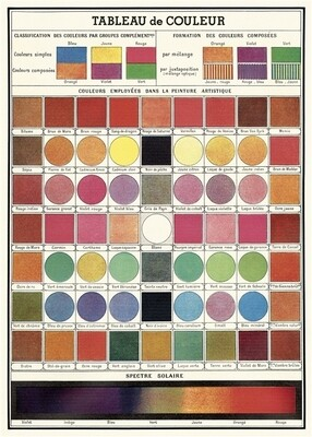 Color Chart Poster #320
