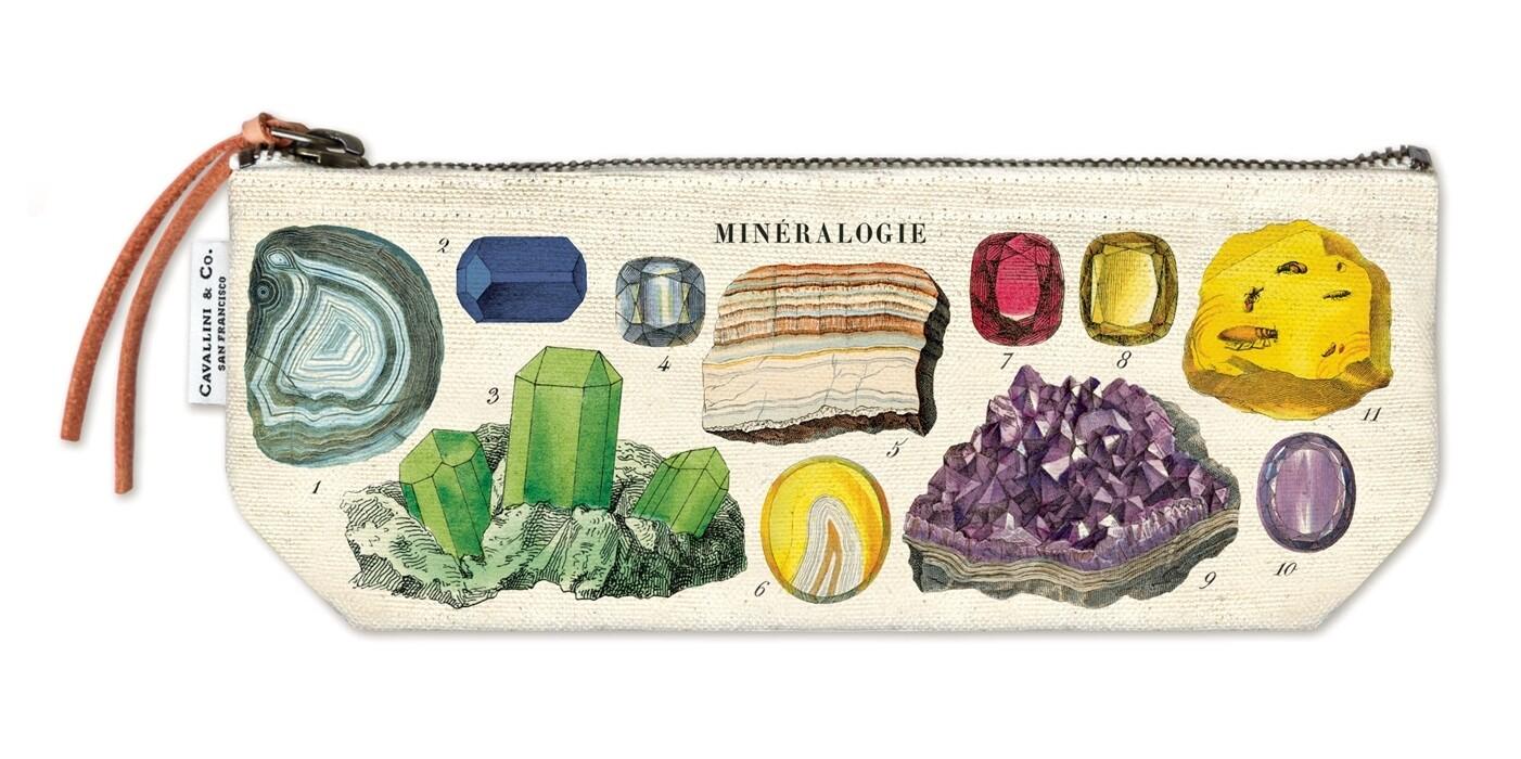 Mineralogy Mini Pouch
