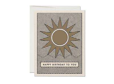 RC53 Sunshine Birthday Card