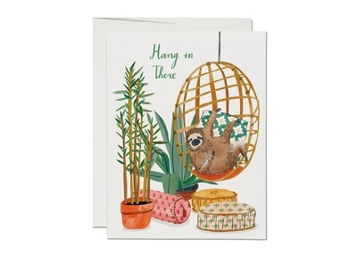 Hang In There Sloth Card - RC49