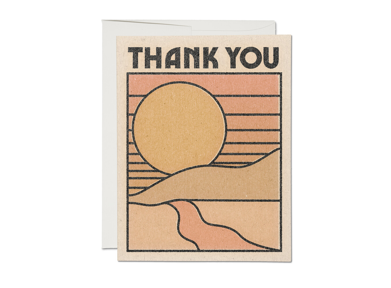 Thank You Sun Card - RC55