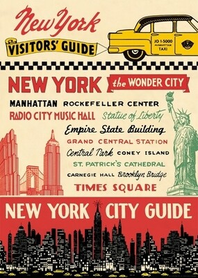 New York City Guide Poster #404