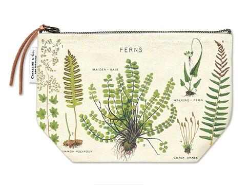 Ferns Vintage Pouch