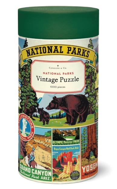 National Parks Puzzle 1,000 Pieces