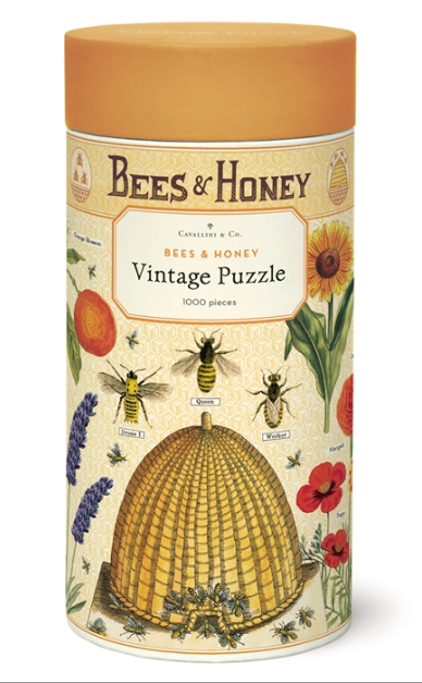 Bees + Honey Puzzle 1,000 Pieces