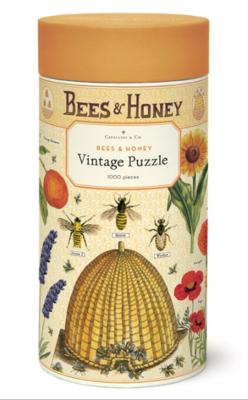 Bees + Honey Puzzle 1,000 Pieces