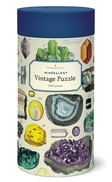 Mineralogie Puzzle 1,000 Pieces
