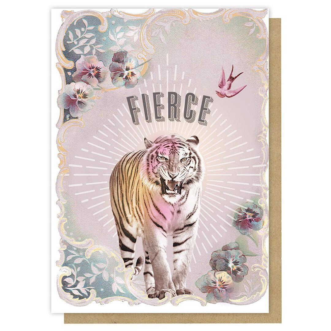 Fierce Greeting Card - PAC354