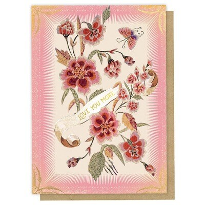 Love You More Greeting Card - PAC27