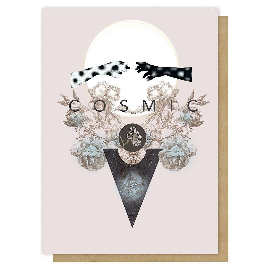 Cosmic Greeting Card