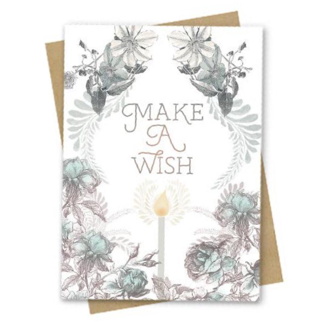 Wish Birthday Small Greeting Card - PAC163