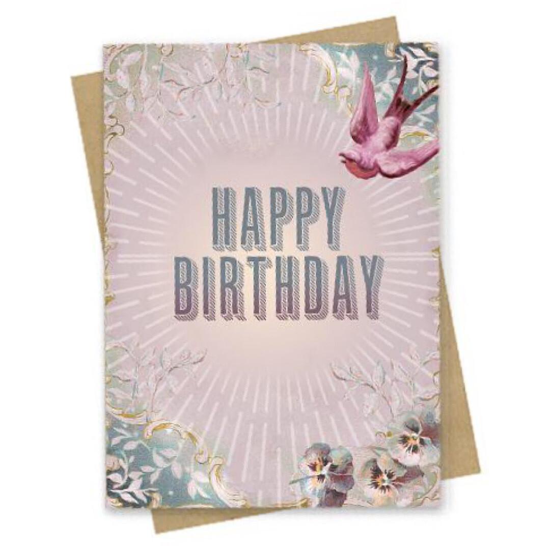Fierce Birthday Small Greeting Card - PAC181