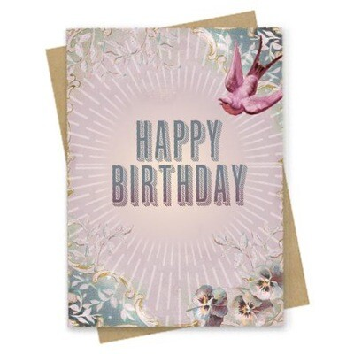 Fierce Birthday Small Greeting Card