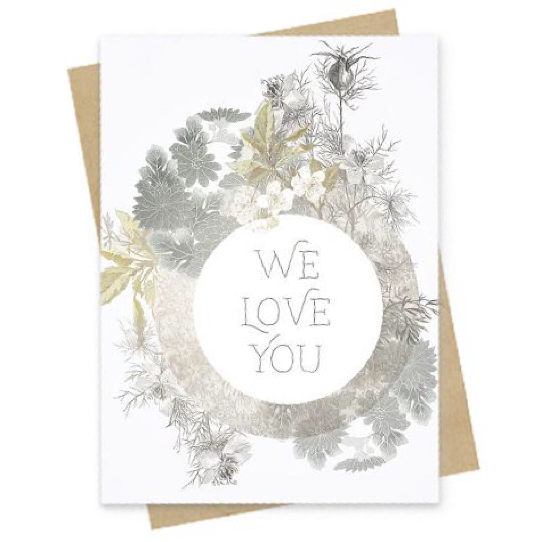 We Love You Small Greeting Card