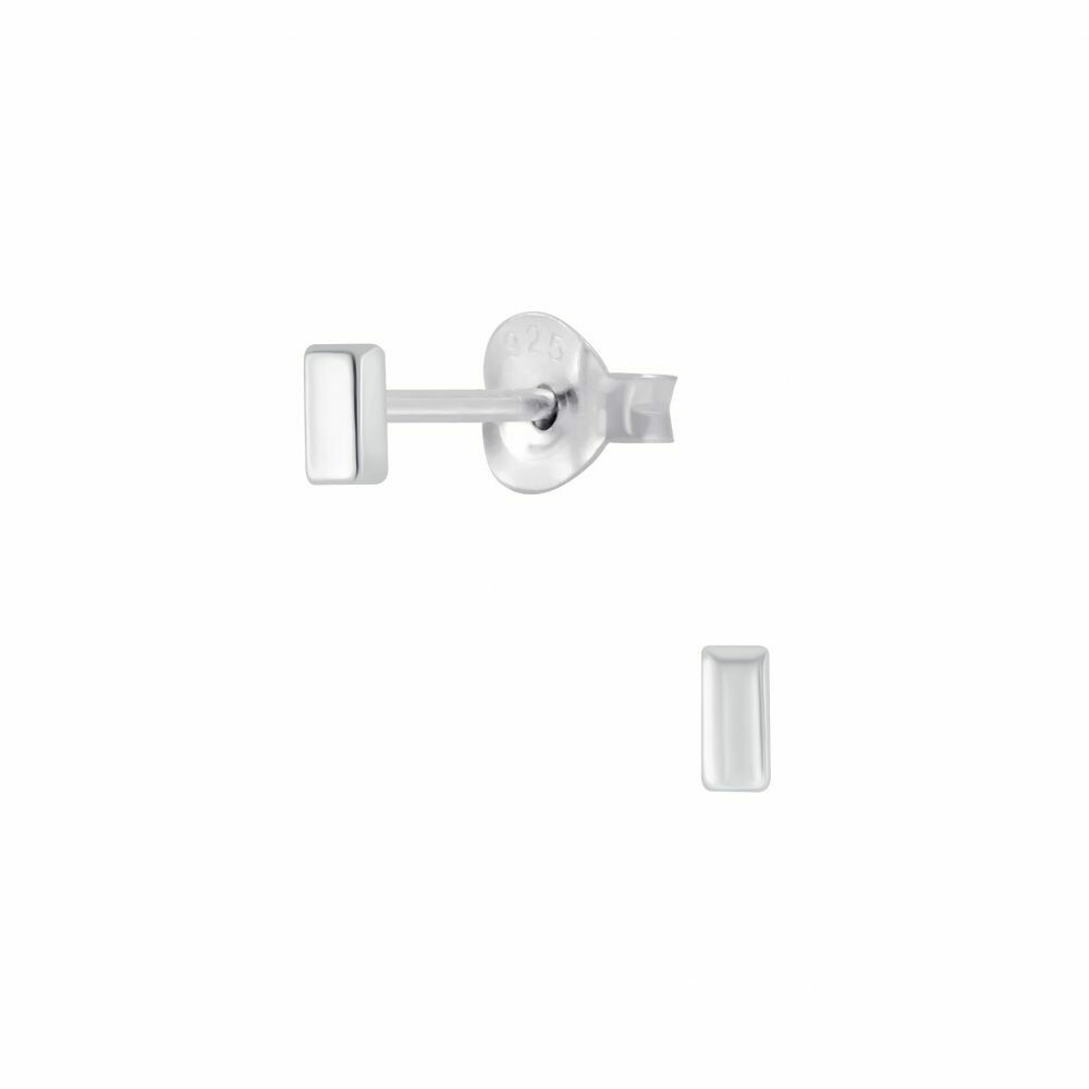 Sterling Silver Mini Bar Posts - P70-8