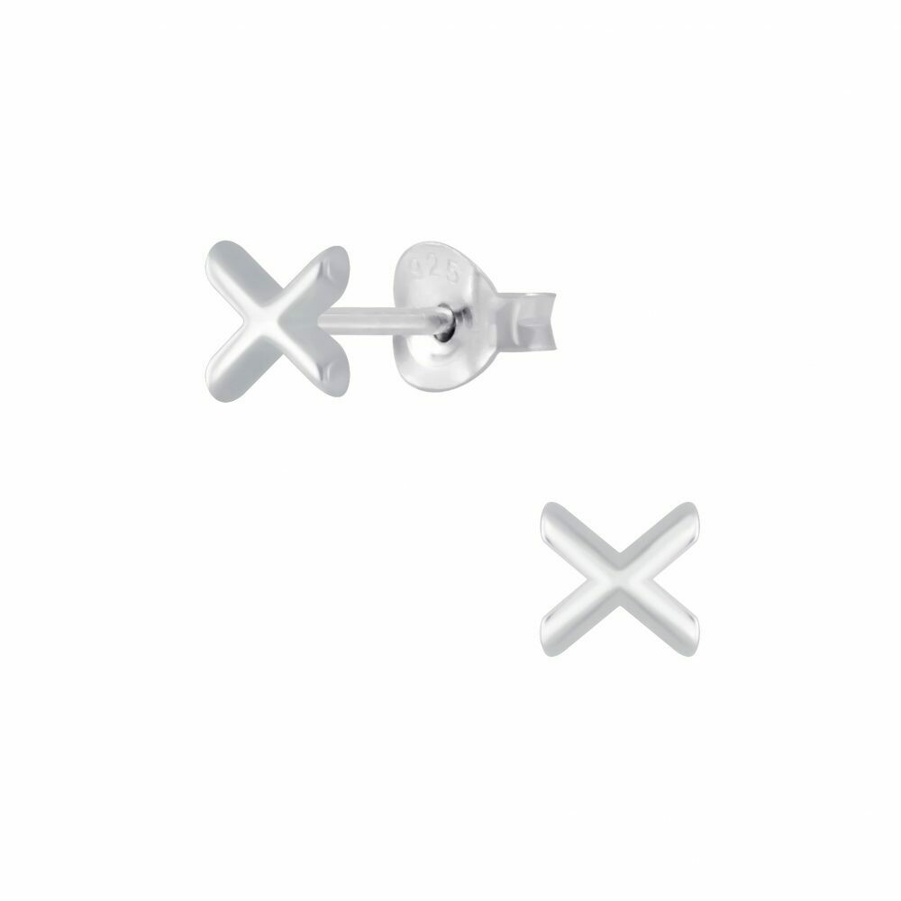 Sterling Silver X Posts - P70-18