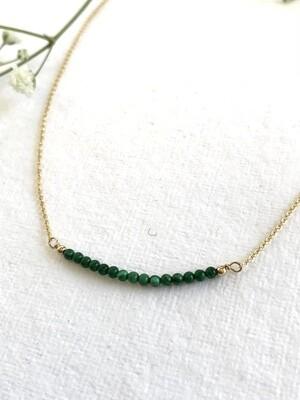 Malachite Artemis Necklace - GDFDSN12