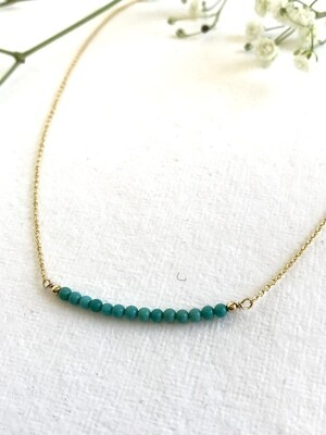 Turquoise Artemis Necklace - GDFDSN16