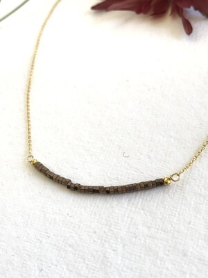 Hematite Iris Necklace - GDFDSN14