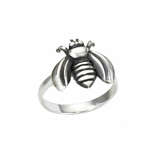 Sterling SIlver Honey Bee Ring - RTM2678