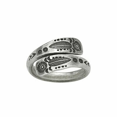 Sterling Silver Hilltribe Wrap RIng - RTM3470