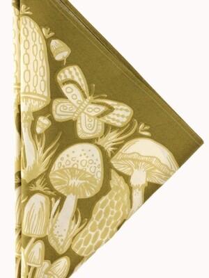 Bandana - Mushrooms No. 016