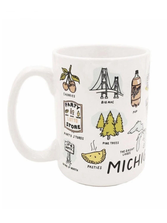 Michigan Things Ceramic Mug