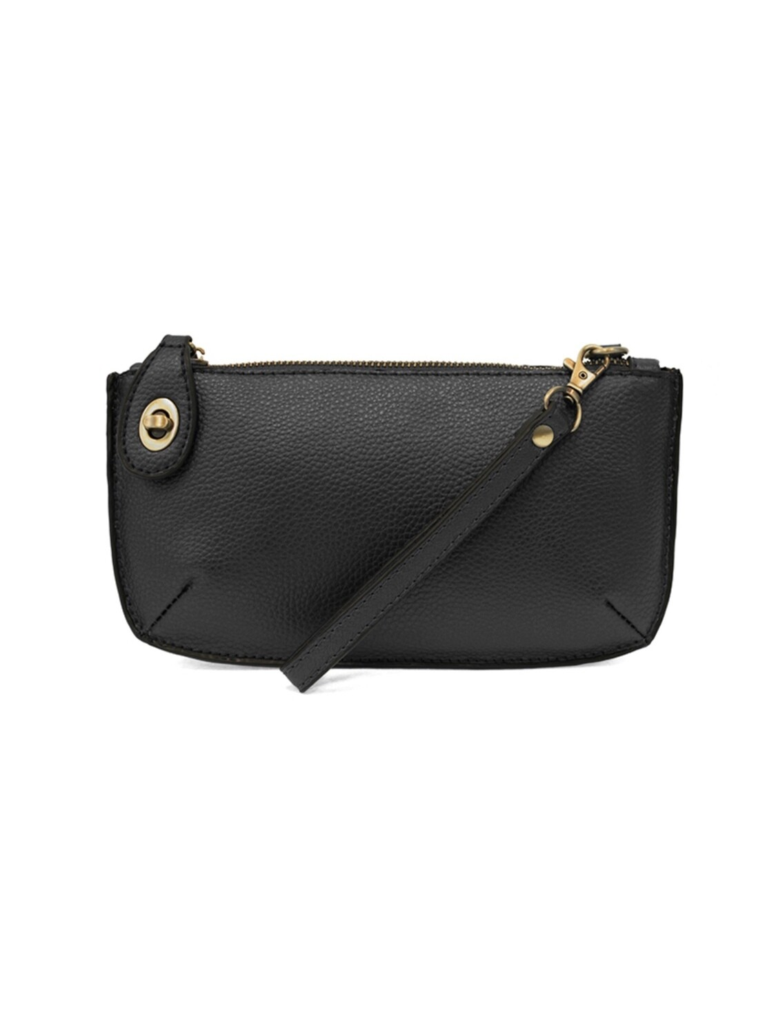 Mini Crossbody Wristlet Clutch Black JA8000-00