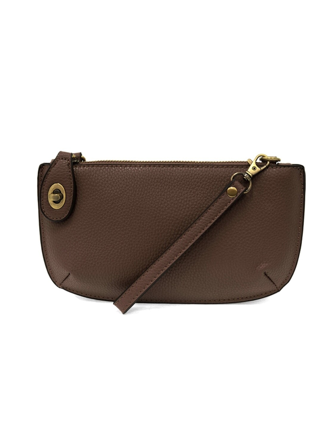 Mini Crossbody Wristlet Clutch Chocolate JA8000-020
