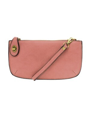 Mini Crossbody Wristlet Clutch Blush JA8000-51