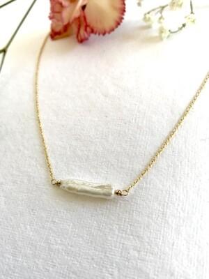 Venus Biwa Pearl Festoon Necklace - GDFDN16