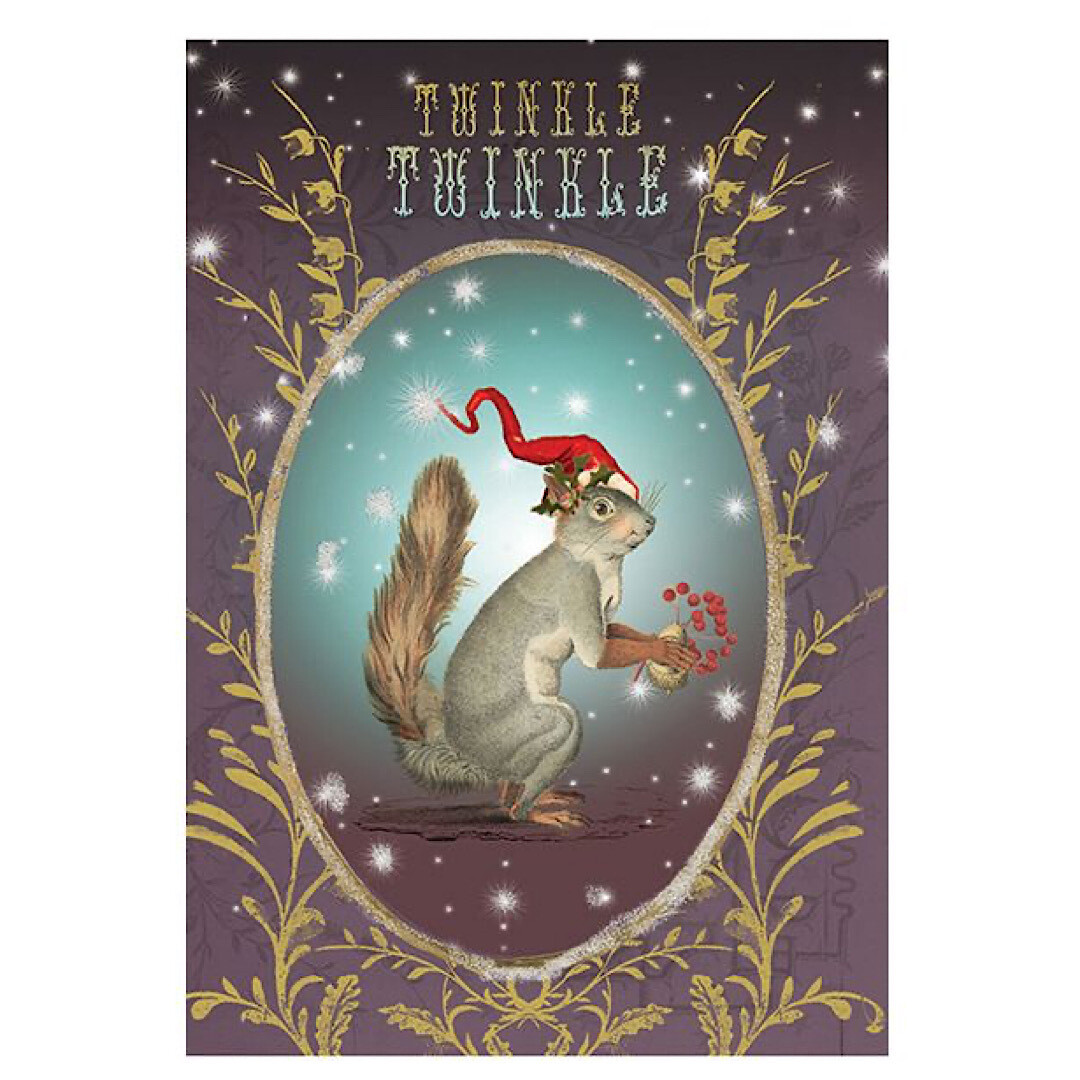 Twinkle Twinkle Holiday Greeting Card