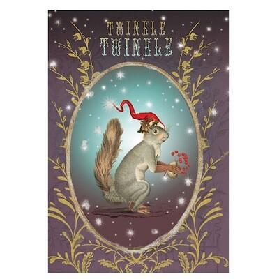 Twinkle Twinkle Holiday Greeting Card