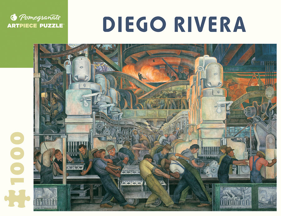 Diego Rivera Detroit Industry 1,000 Piece Puzzle - AA421