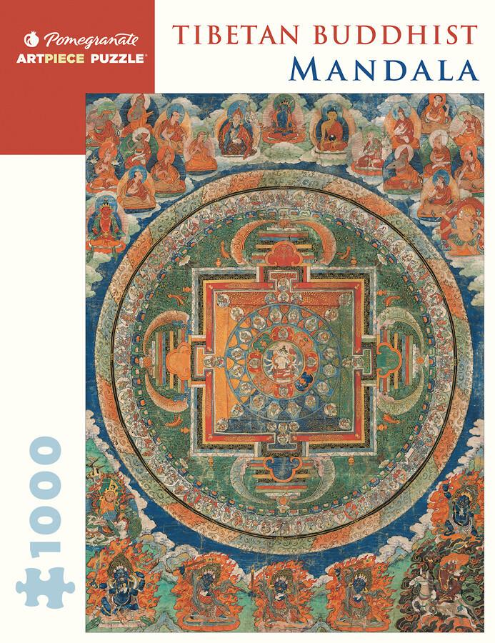 Tibetan Buddhist Mandala 1,000 Piece Puzzle - AA257