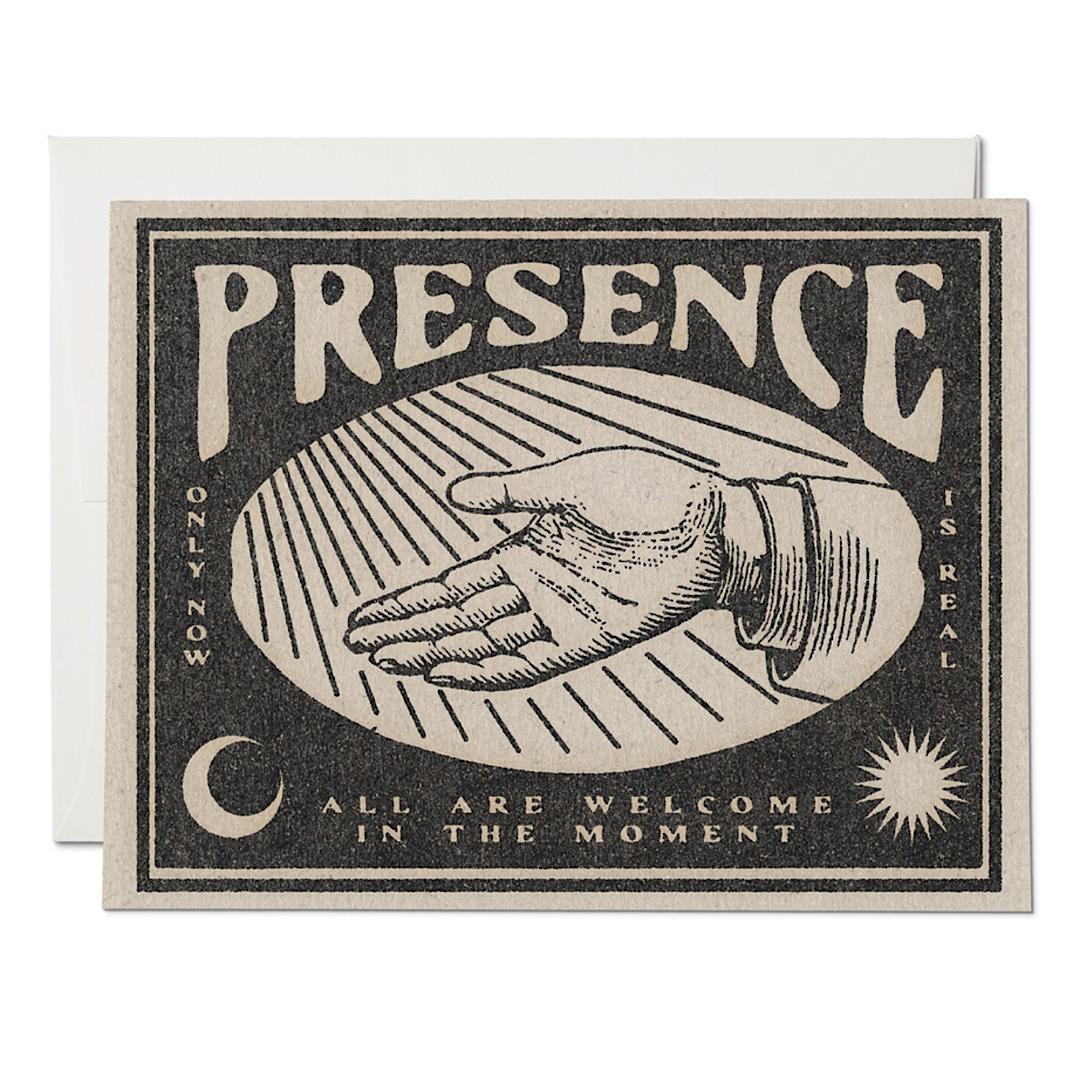 Presence Greeting Card - RC61