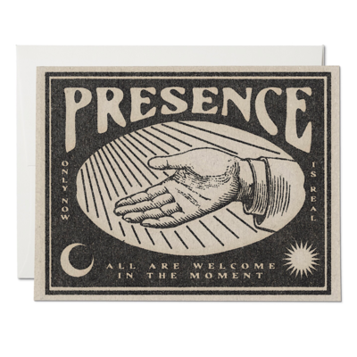 Presence Greeting Card - RC61