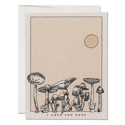 Mushroom Love Greeting Card - RC65