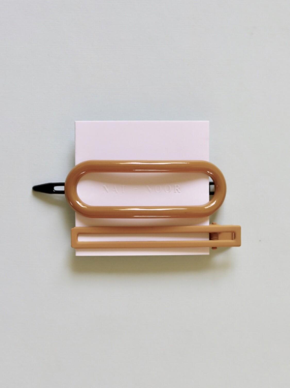 Byron Barrette & Clip Set - Mustard