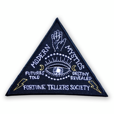 Modern Mystic Embroidered Patch - AQPA1