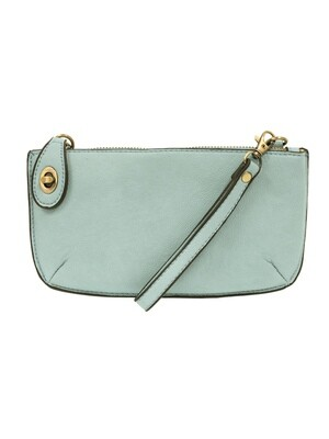 Mini Crossbody Wristlet Clutch Sky Blue JA8000-57