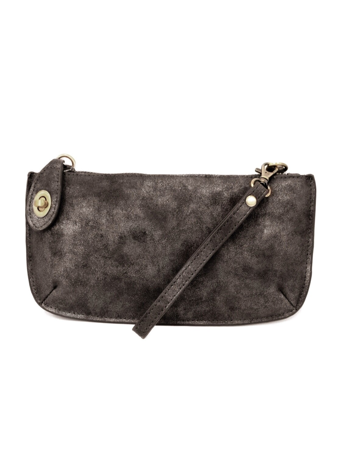 Lux Crossbody Wristlet Clutch Black JA8020-00
