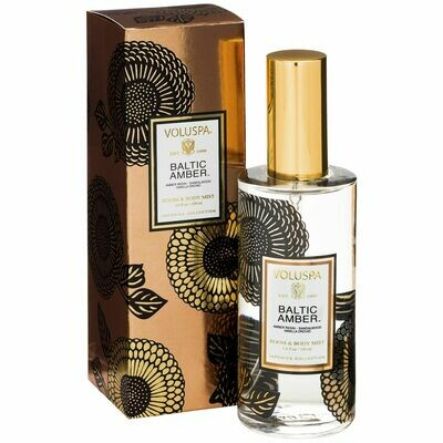 Baltic Amber Room + Body Spray - Voluspa Japonica Collection