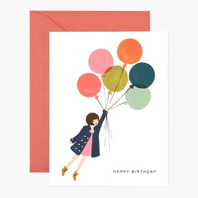 Fly Away Birthday Card - Rifle Paper Co. RPC127
