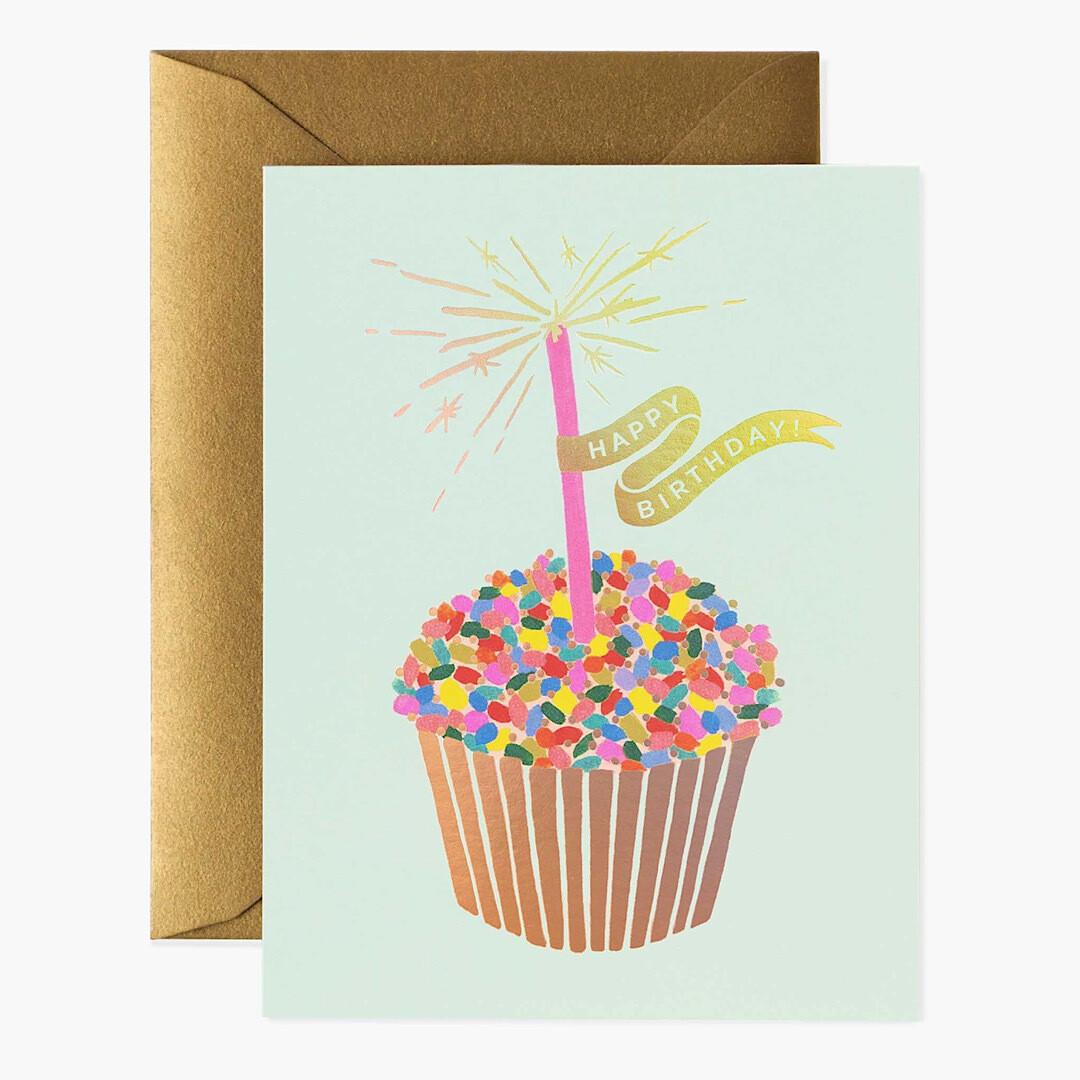 Cupcake Birthday Card - Rifle Paper Co. RPC121