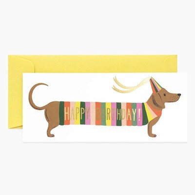 Hot Dog Birthday Card - Rifle Paper Co. RPC132