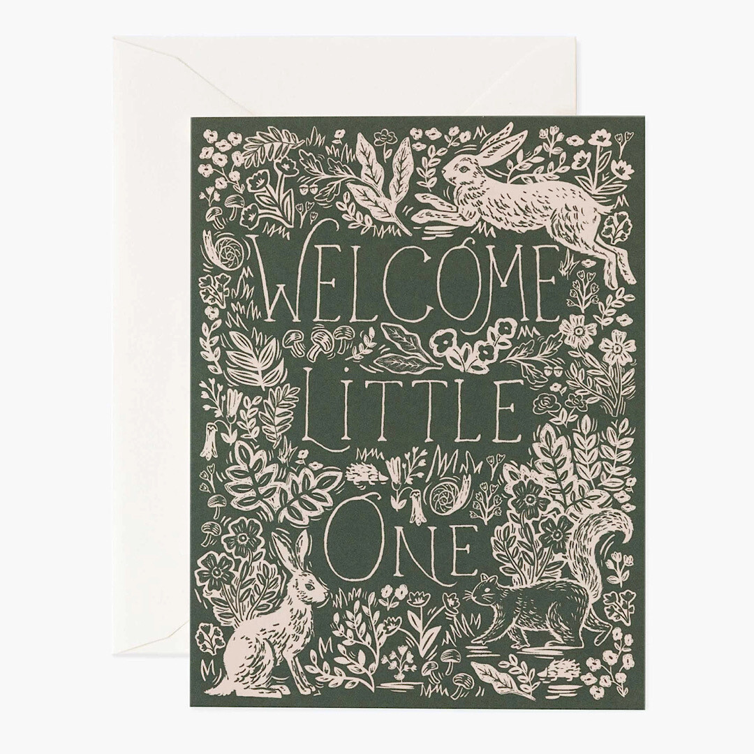Fable Baby Card - Rifle Paper Co. RPC128
