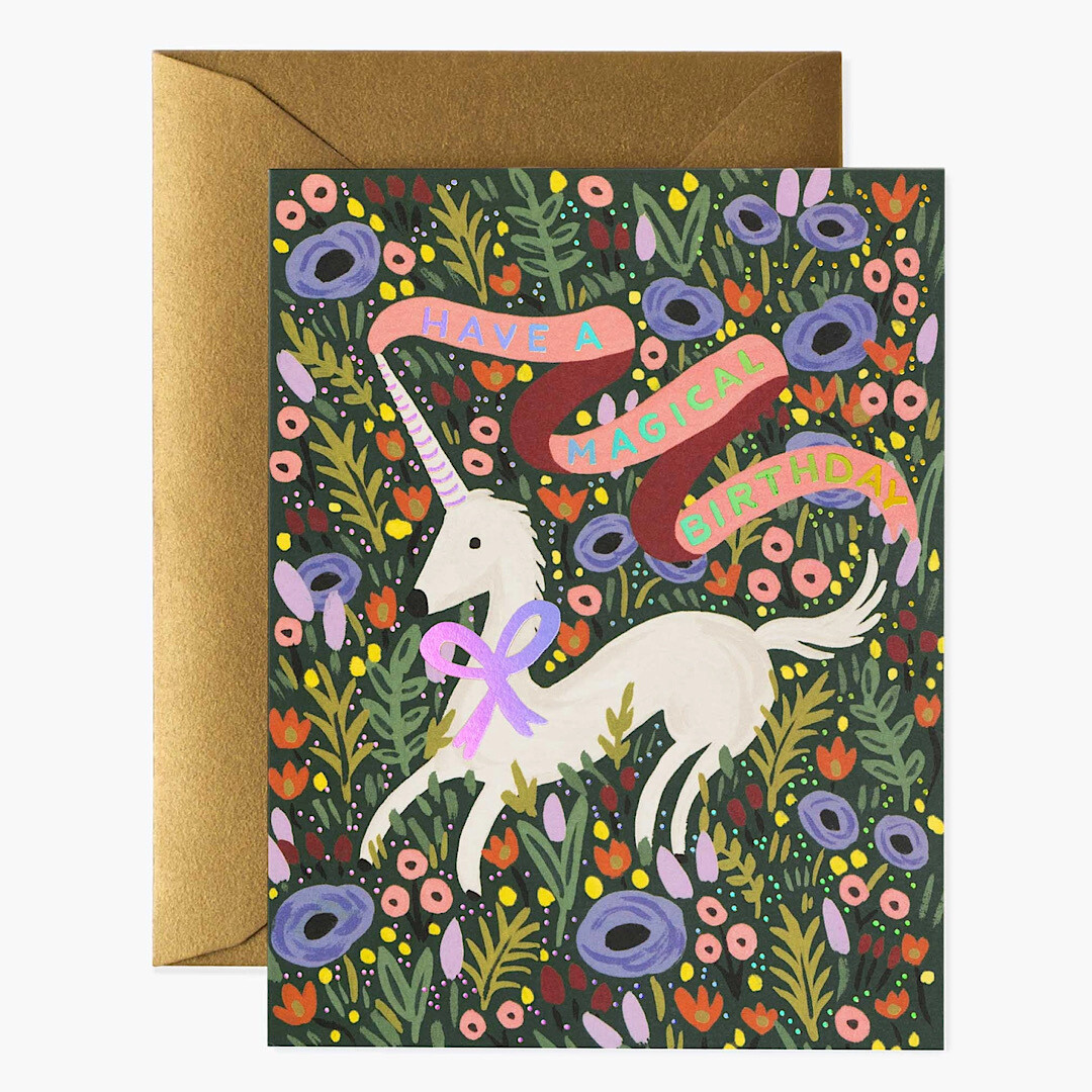 Magical Birthday Card - Rifle Paper Co. RPC124