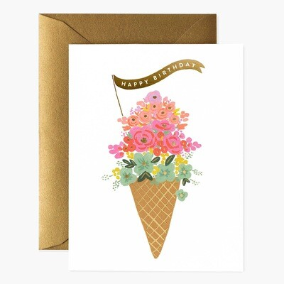 Ice Cream Birthday Card - Rifle Paper Co. RPC125